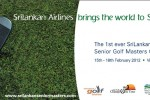 Asia Pacific Senior Golf Masters Championship 2012 in Srilanka – 15th to 18th February 2012