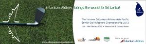 Asia Pacific Senior Golf Masters Championship 2012 in Srilanka - 15th to 18th February 2012