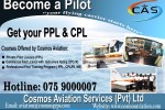 Become an Airplane Pilot in Srilanka – by RPT Aero Consultance