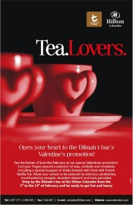 Valentine's Promotions – t Bra – Hilton Hotel