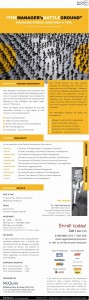"""""""The Manager's Battle Ground"""" – a Workshop ~ 3rd April 2012 ~ by Dr.Upali Mahanama"""