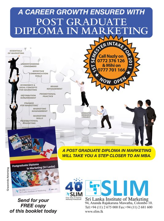slim post graduate diploma in marketing View wajira jayawardana's profile on linkedin,  post graduate diploma in marketing of slim view profile view profile badges find a different wajira jayawardana.