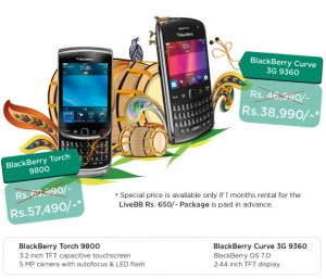 Blackberry Touch 9800 & Blackberry curve 3G 9360