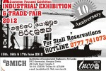 Industrial Exhibition and trade Fair 2012 – Stall Reservations