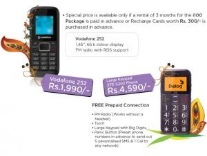 Vodafone Mobile Offer - New Year 2012 offer (Avurudu Offers)