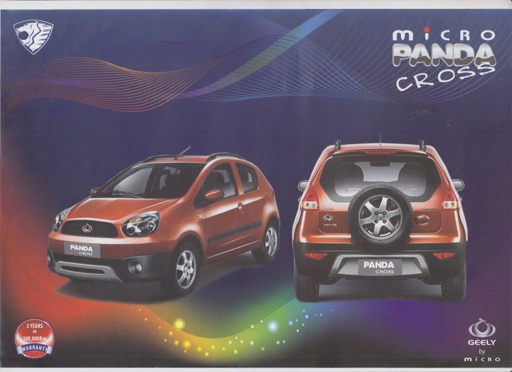 Micro Panda Cross For Rs 1 825 000 All Inclusive