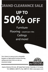ARPICO Interiors Up To 50 Off for Clearance sales