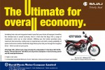 Bajaj CT 100 – Rs. 126,125.00 (without VAT)