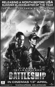 Battleship Release in Srilanka on 13th April 2012