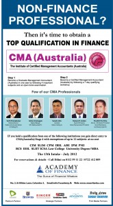 CMA (Certified Management Accountants) –Australia Learning Partner in Srilanka