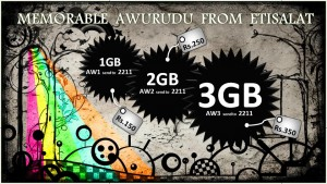 Etisalat Avurudu (New Year 2012) Offer