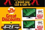 Exchange your Old TV with Brand New LCD & LED TV from Brown till 30th April 2012