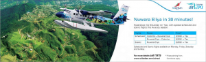 Nuwara Eliya in 30 Minutes with Srilankan Air Taxi