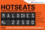 Srilanka Airline Hot seat offer for Maldives – Rs. 22,500.00