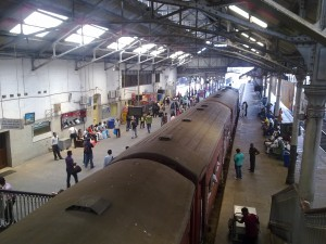 Srilanka Fort Railway Stationq