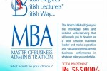University of Bolton MBA in Srilanka – Rs. 565,000.00