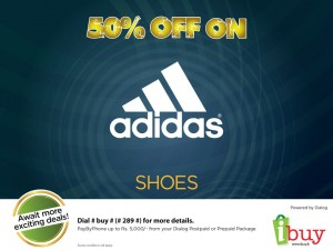 50% Off on Adidas Shoes by www.ibuy.lk