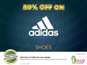 50% Off on Adidas Shoes by www.ibuy.lk