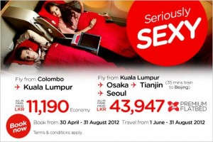 Air Asia Colombo to Kuala Lumpur Rs. 11,190.00