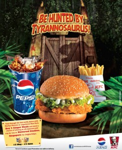 Buy 2 Zinger Meals at KFC Srilanka and Win Trips for 2 to Universal Studio, Singapore