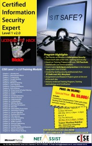 Certified Information Security Expert (CISE) Programmes in Srilanka