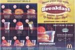 McDonald's Srilanka Meals / Menu