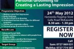 Personal Grooming to Creating a Lasting Impression – Dressing Workshop in Colombo
