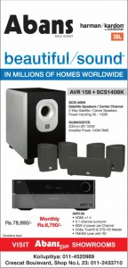 Abans Home Theater just for Rs. 78,990.00