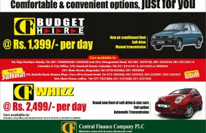 Central Finance Rent a Car service