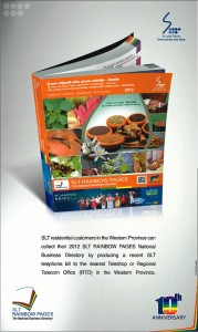 Collect your Srilanka Telecom Rainbow Pages 2012