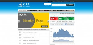 Colombo Stock Exchange Modernize their Website