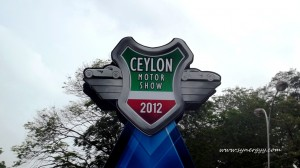 Ceylon Motor Shows 2012 entrance