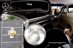 Vintage Bens Cars in Srilanka - Ceylon Motor Shows 2012 in Colombo