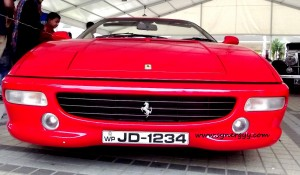 Ferrari cars in Srilanka - Ceylon Motor Shows 2012 in Colombo