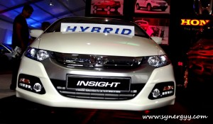 Honda Insight Hybrid in Srilanka - Ceylon Motor Shows 2012