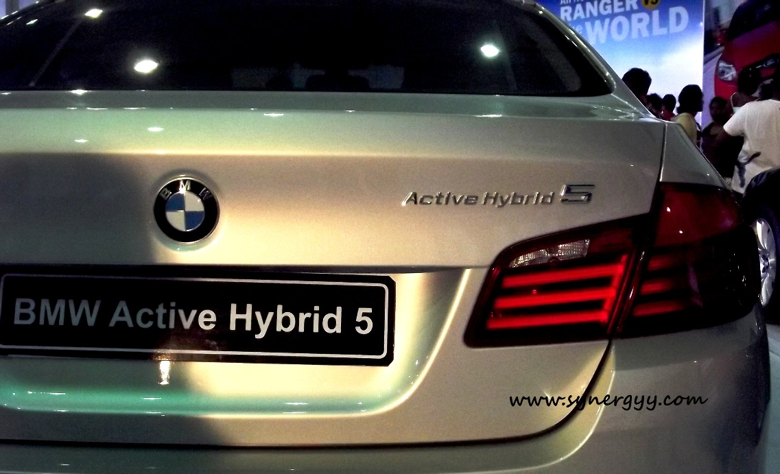 BMW Active Hybrid 5 In Sri Lanka   Ceylon Motor Shows 2012