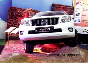 Toyota Prado in Sri Lanka - Ceylon Motor Shows 2012