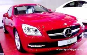 Mercedes Benz SLK in Sri Lanka - Ceylon Motor Shows 2012