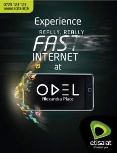 FAST Internet at ODEL Alexandra Place