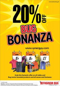 Fashion Bug – 20% off Bug Bonanza