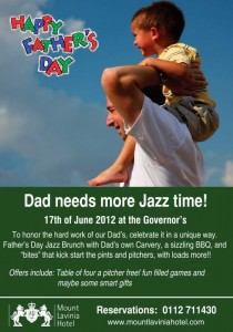 Father's Day Celebration in Mount Lavinia Hotel – 17th June 2012