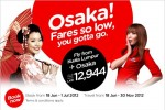 Fly From Kuala Lumpur to Osaka with Air Asia for Rs. 12,944.00 Only