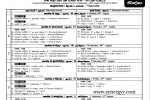G.C.E (A/L) 2012 Examination Time Table Published by Department of Examination Srilanka
