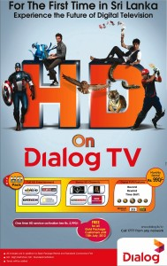 HD - High Definition Package on Dialog for Rs. 990.00 or FREE
