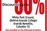 Lanka tiles Grand Sales – 50% off from 26th to 30th June 2012