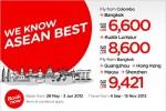 New Air Asia Offer Bangkok, Kuala Lumpur