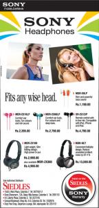 Sony Headphones Price in Srilanka Siedles