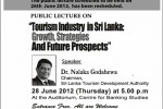 Tourism Industry in Srilanka: Growth, Strategies and Future Prospects by Dr. Nalaka Godahewa