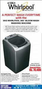 Whirlpool Washing Machine Offer in Srilanka
