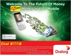 eZ Cash – E Money Revolution by Dialog